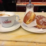 Just like old times: two cremas e un cappuccino