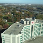 The Hilton in East Brunswick in all its glory