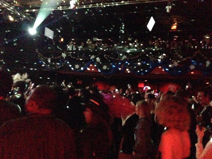 NOTS 26 fans dancing