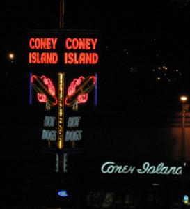 Coney Island Hot Dogs