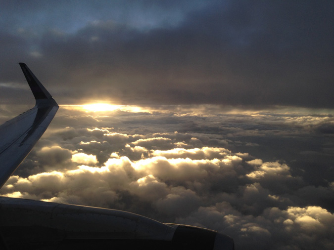 Window seat view, GDL - JFK